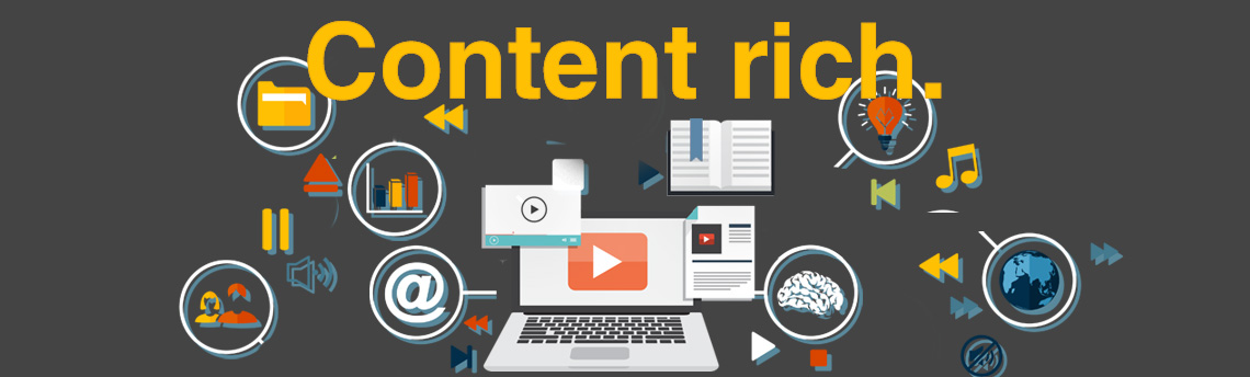 Content rich websites developed by Patricia Gill saidthespider.net