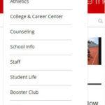 pvhigh.com responsive menu mobile website - Wordpress website development - saidthespider.net