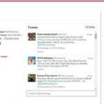 pvhigh.com social media Twitter feed - Wordpress website development - saidthespider.net