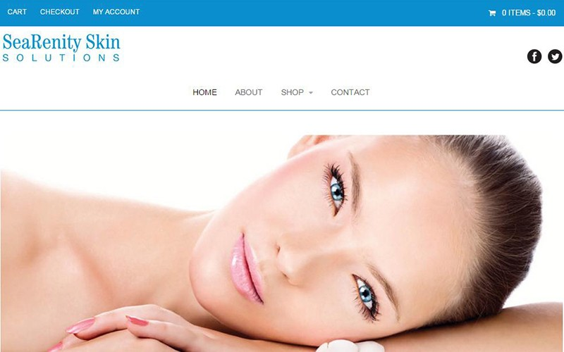 SeaRenity Skin Solutions from Ayur-medic ecommerce website developed by Patricia Gill saidthespider.net