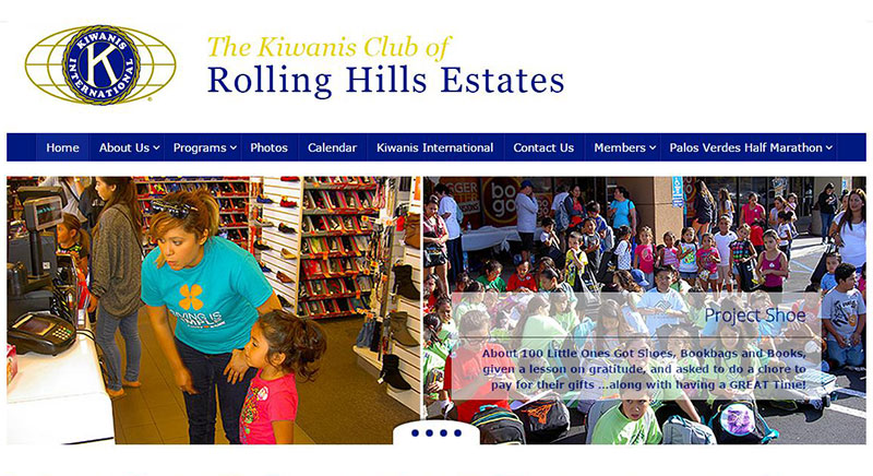 Kiwanis Club of RHE non-profit website developed and maintained by Patricia Gill saidthespider.net