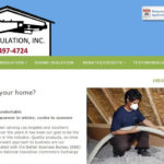 RBH Insulation WordPress website designed and developed by Patricia Gill saidthespider.net in 2015